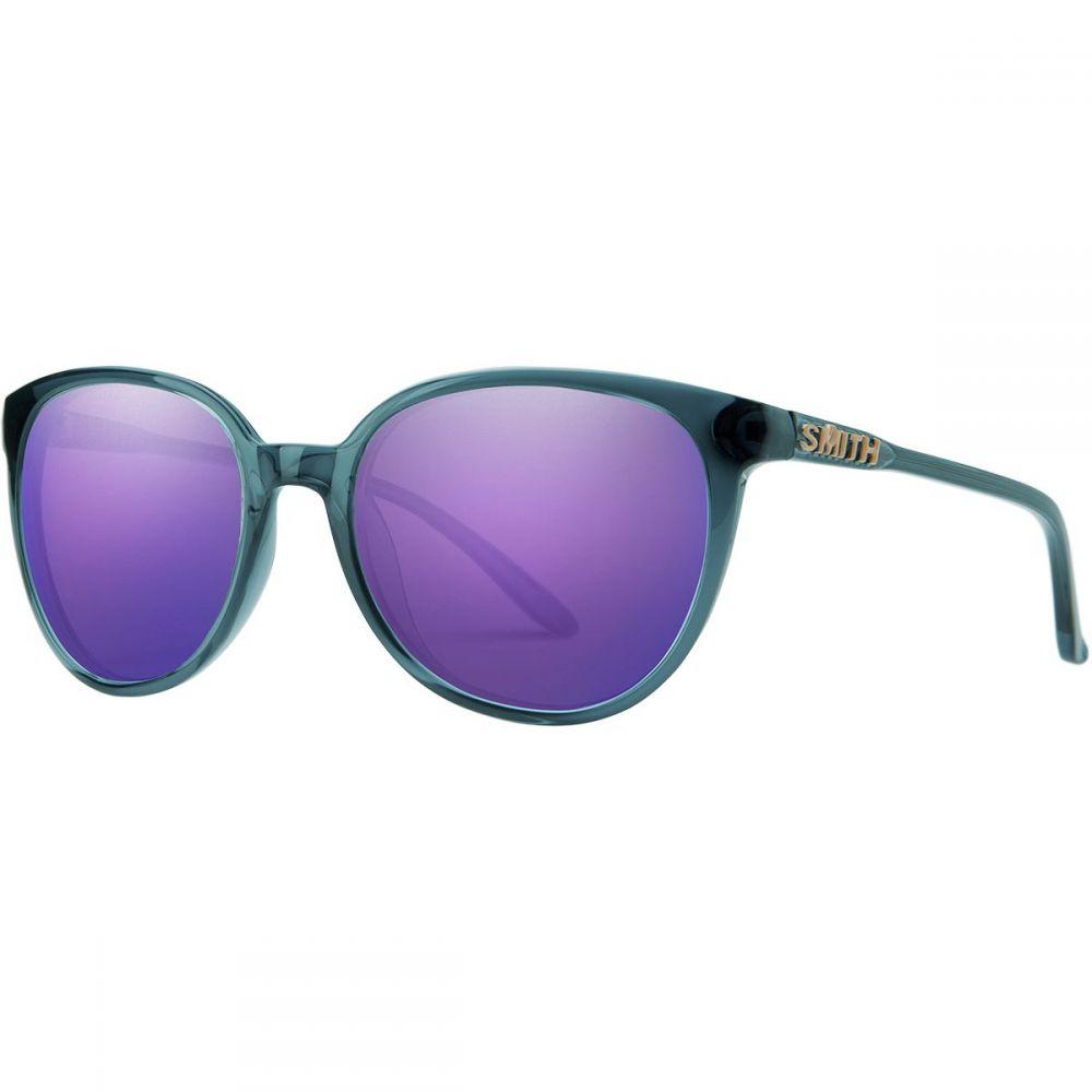 スミス Smith レディース メガネ・サングラス【Cheetah Carbonic Sunglasses】Crystal Mediterranean Frame/Violet Mirror