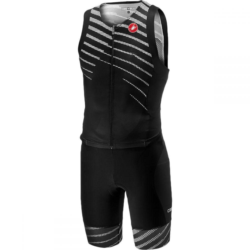 カステリ Castelli メンズ トライアスロン トップス【Free Sanremo Sleeveless Suits】Black/Black