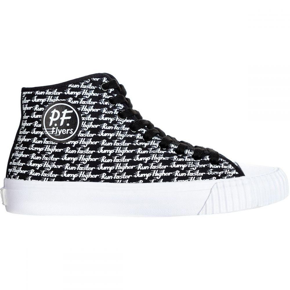 ピーエフフライヤー PF Flyers メンズ シューズ・靴 スニーカー【Run Faster, Jump Higher Center Hi Shoes】Black