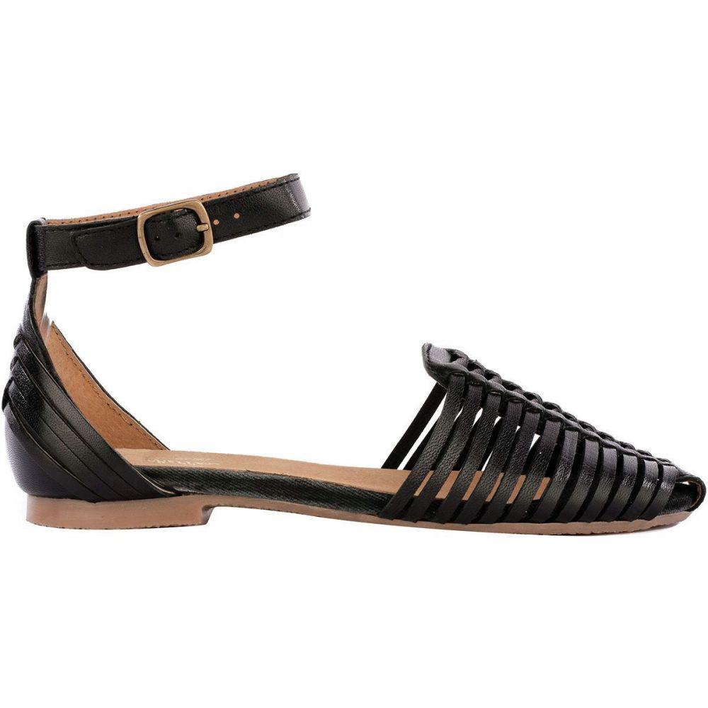 セイシェルズ Seychelles Footwear レディース シューズ・靴【Bits 'N Pieces Shoe】Black Leather