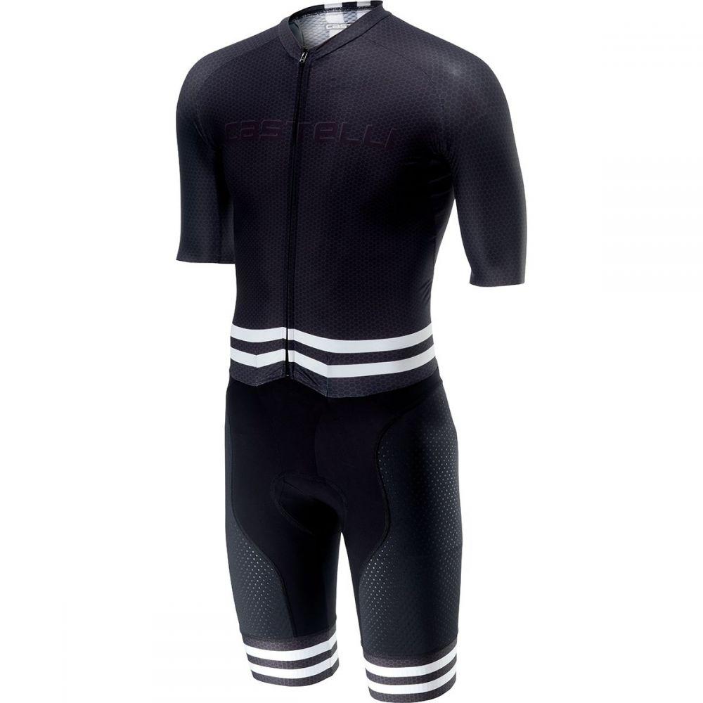 カステリ Castelli メンズ トライアスロン トップス【Sanremo 4.0 Speed Suits】Black