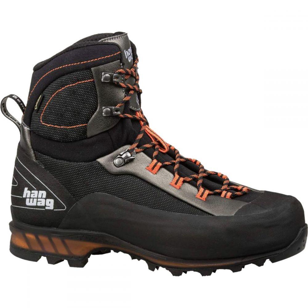 ハンワグ Hanwag メンズ ハイキング・登山 シューズ・靴【Ferrata II GTX Backpacking Boots】Black/Orange