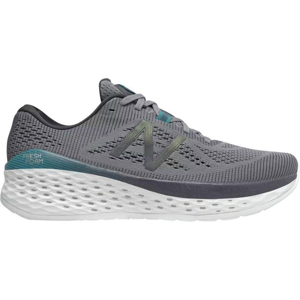 ニューバランス New Balance メンズ ランニング・ウォーキング シューズ・靴【Fresh Foam More Running Shoes】Gunmetal/Lead/Deep Ozone Blue