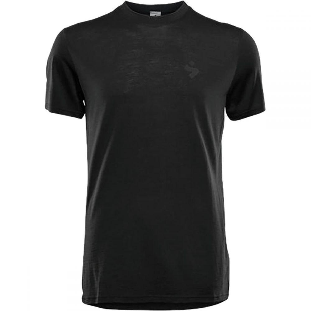 スイートプロテクション Sweet Protection メンズ 自転車 トップス【Hunter Merino Short - Sleeve Jerseys】Black