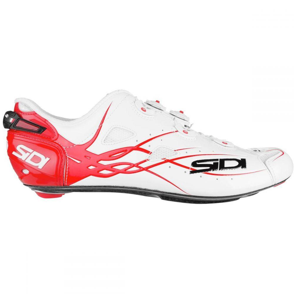 シディー Sidi メンズ 自転車 シューズ・靴【Shot Vent Carbon Cycling Shoes】White/Red