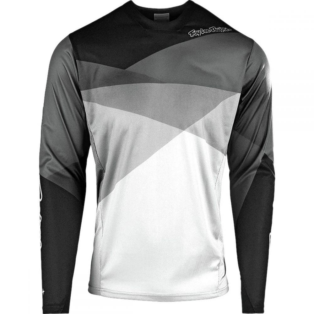 トロイリーデザイン Troy Lee Designs メンズ 自転車 トップス【Sprint Jerseys】Jet White/Gray