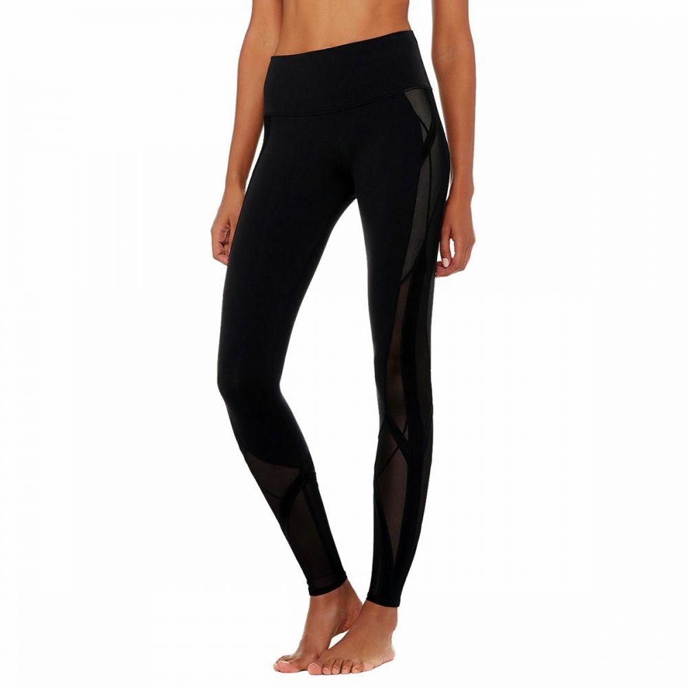 アローヨガ Alo Yoga レディース インナー・下着 スパッツ・レギンス【High - Waist Mosaic Legging】Black
