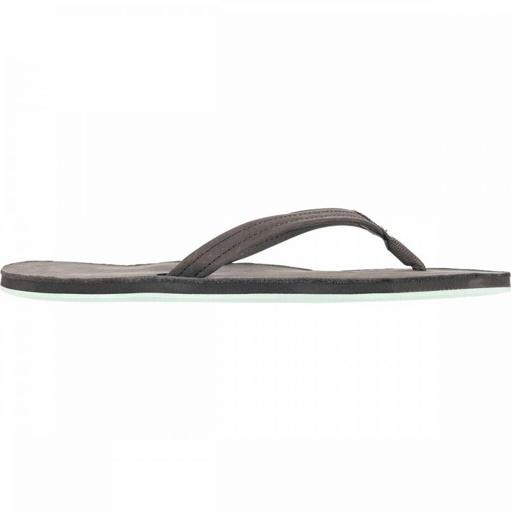 ハリマリ Hari Mari レディース シューズ・靴 ビーチサンダル【Fields Flip Flop】Dark Gray/Aqua