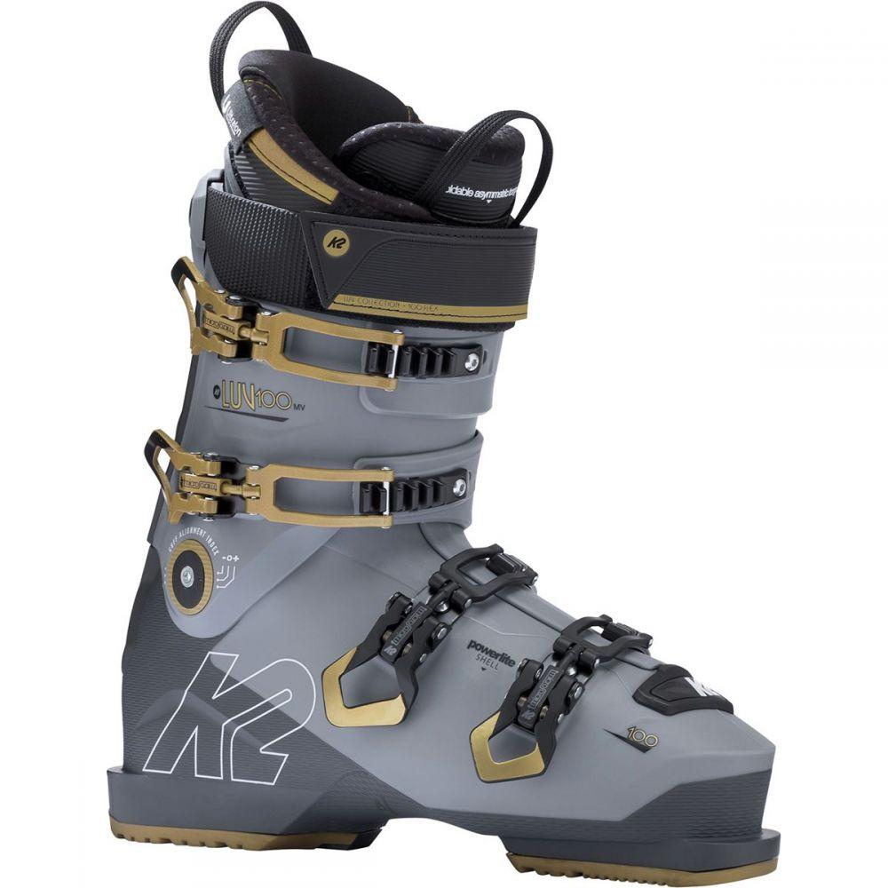 ケーツー K2 レディース スキー・スノーボード シューズ・靴【Luv 100 LV Ski Boot】Light Gray/Gold