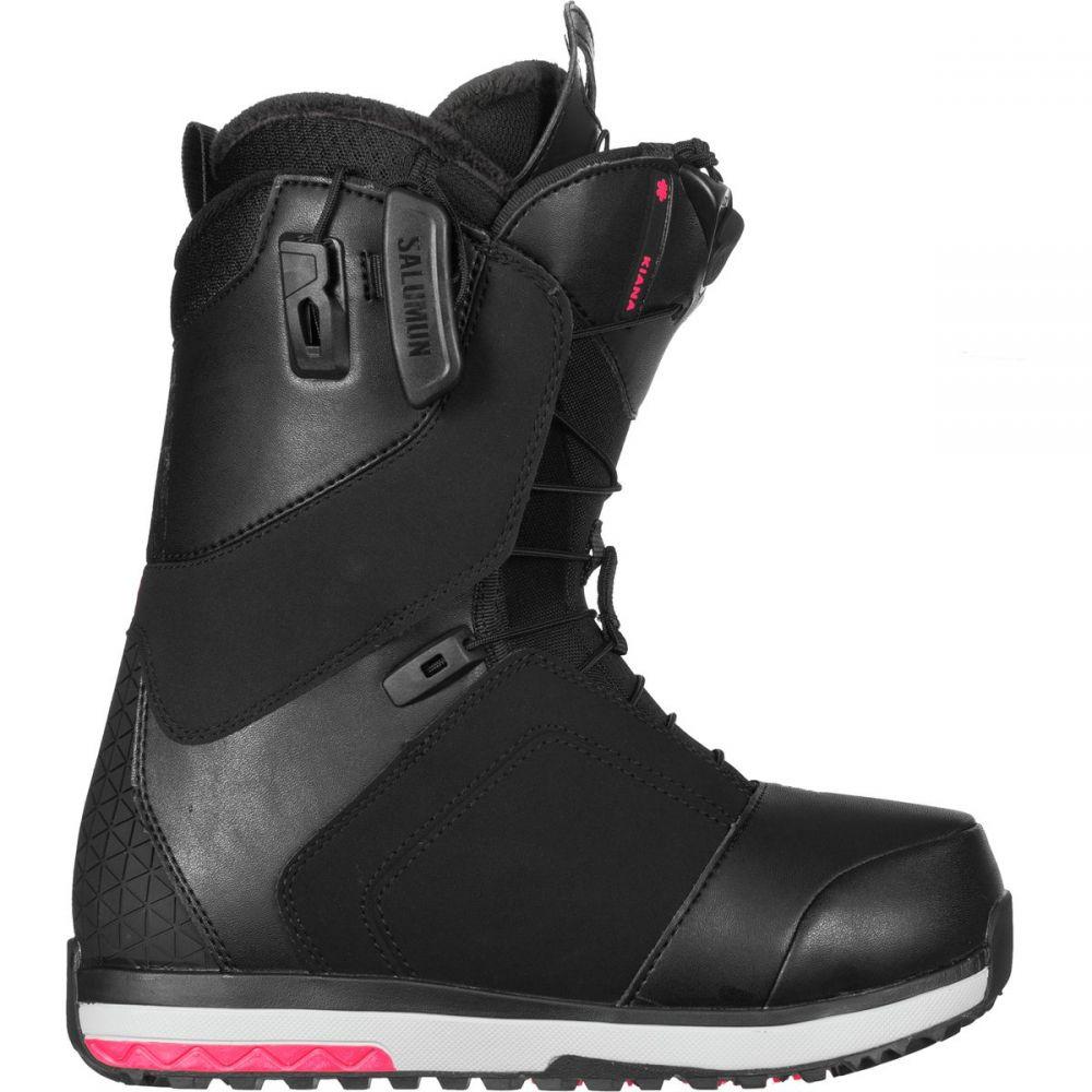 サロモン Salomon Snowboards レディース スキー・スノーボード シューズ・靴【Kiana Snowboard Boot】Black