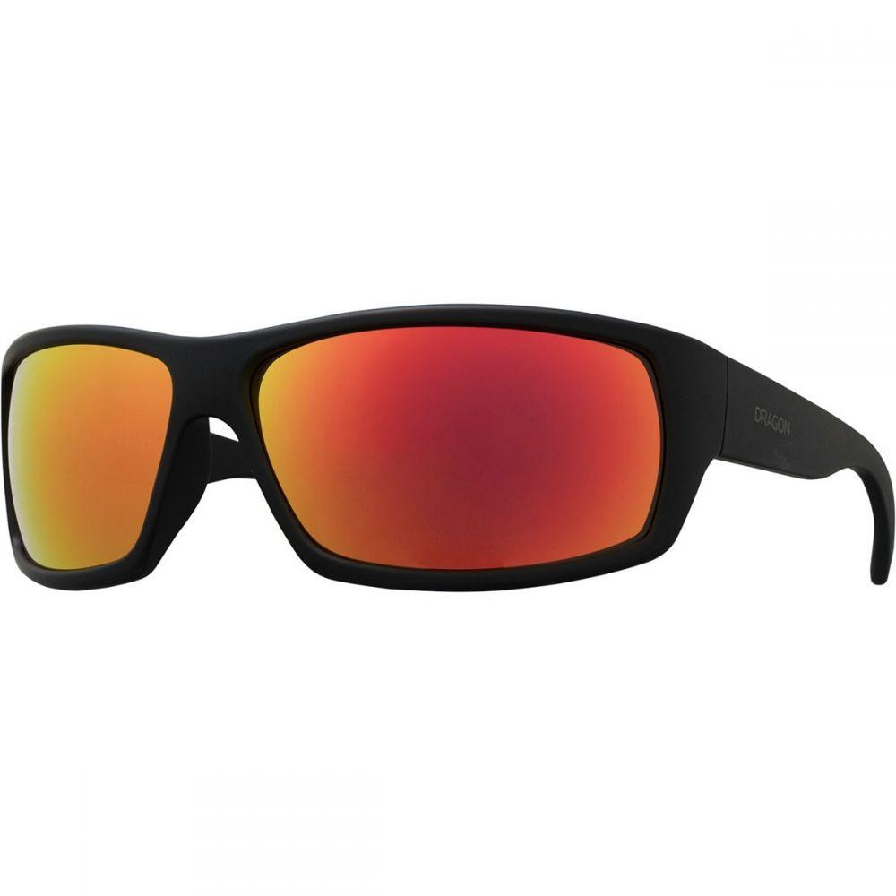 ドラゴン Dragon レディース スポーツサングラス【Ventura Sunglasses】Matte Black Orange Ion