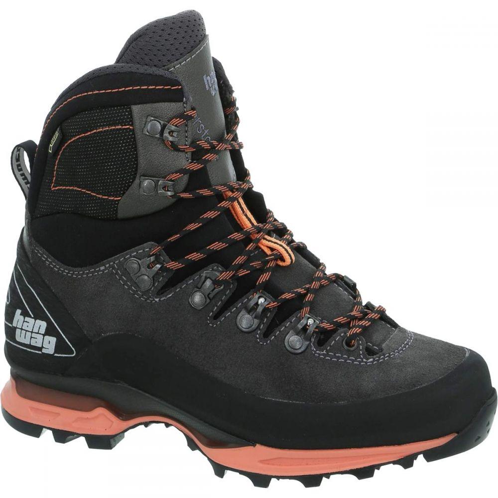 ハンワグ Hanwag レディース ハイキング・登山 シューズ・靴【Alverstone II Lady GTX Backpacking Boot】Asphalt/Orink