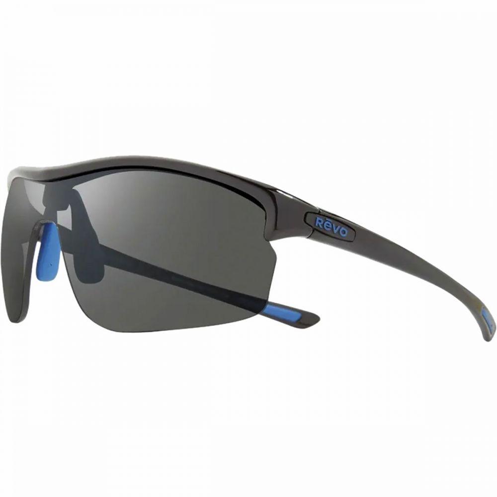 レヴォ Revo レディース スポーツサングラス【Edge Polarized Sunglasses】Black/Graphite
