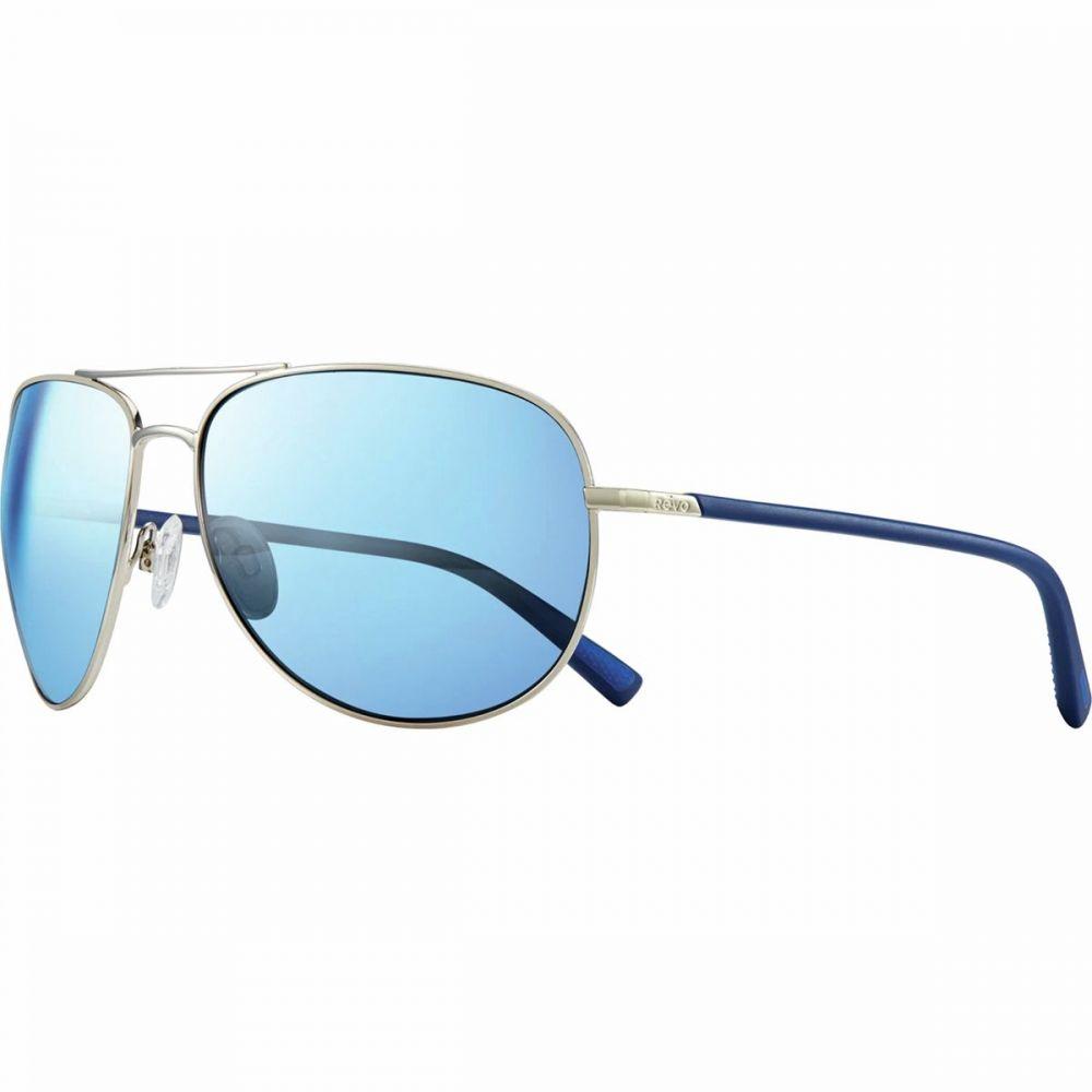 レヴォ Revo レディース スポーツサングラス【Tarquin Polarized Sunglasses】Chrome/Blue Water