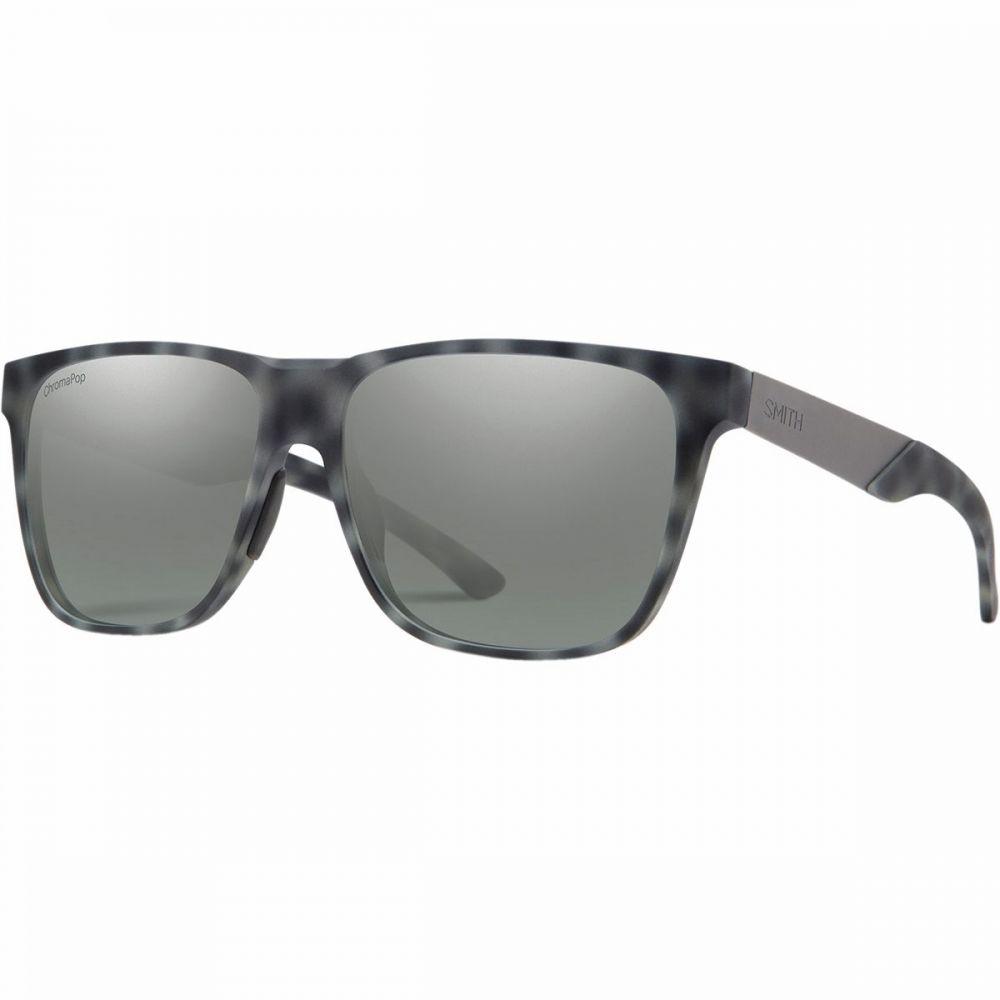 スミス Smith レディース メガネ・サングラス【Lowdown XL Steel Chromapop Sunglasses】Matte Ash Tort-Chromapop Platinum Mirror