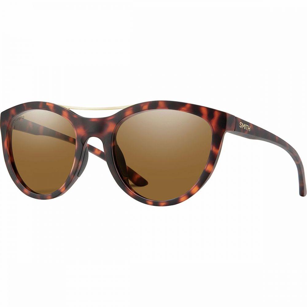 スミス Smith レディース メガネ・サングラス【Midtown Chromapop Polarized Sunglasses】Dark Tort-Chromapop Polarized Brown