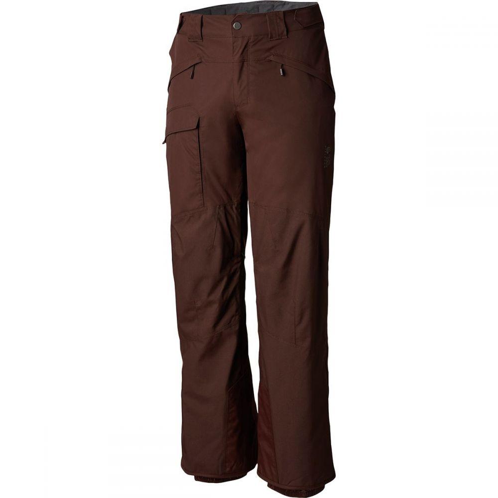 マウンテンハードウェア Mountain Hardwear メンズ スキー・スノーボード ボトムス・パンツ【Highball Insulated Pants】Woodsmoke