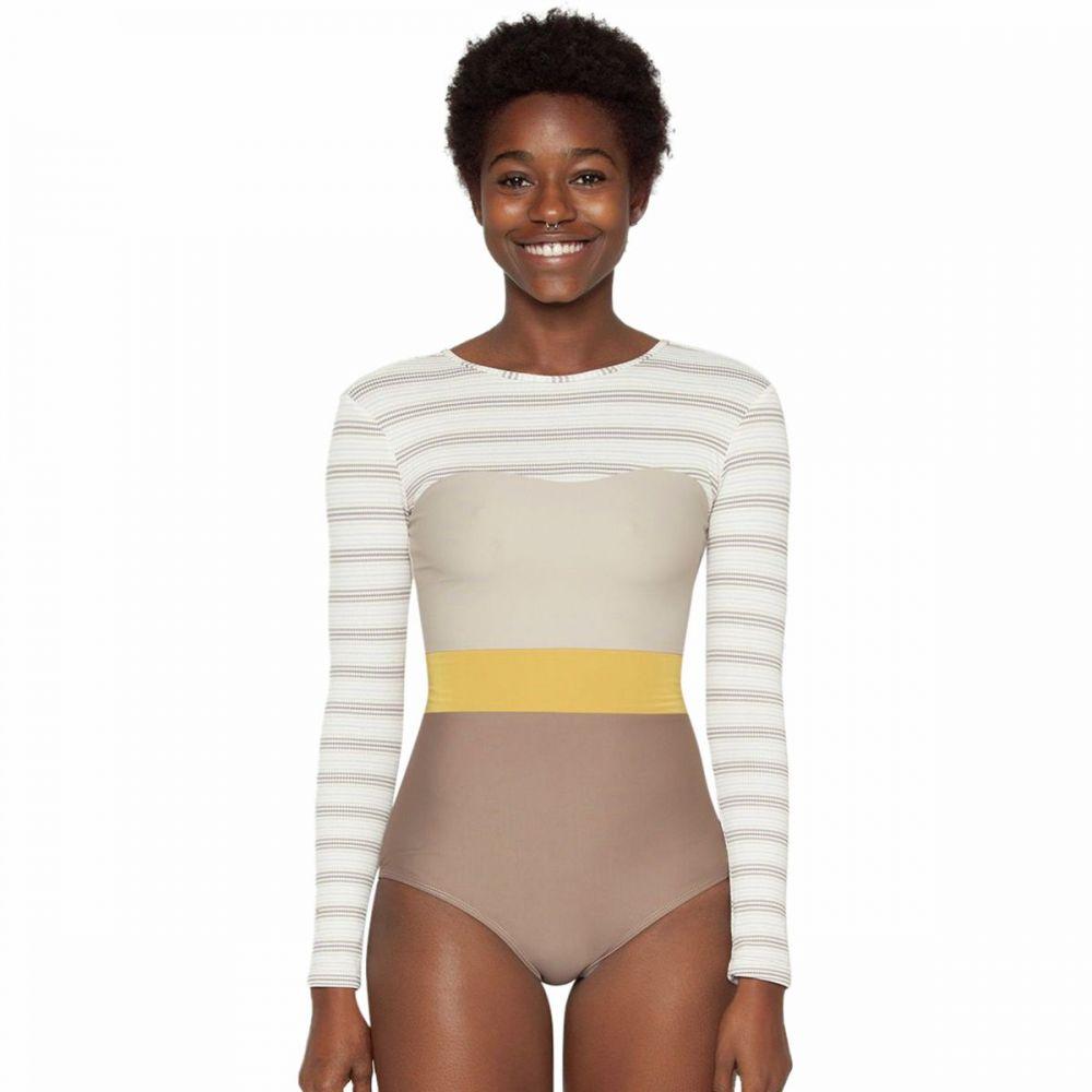 シーアスイムウェア Seea Swimwear レディース サーフィン ウェットスーツ【Hermosa Long - Sleeve Surf Suit】Chai