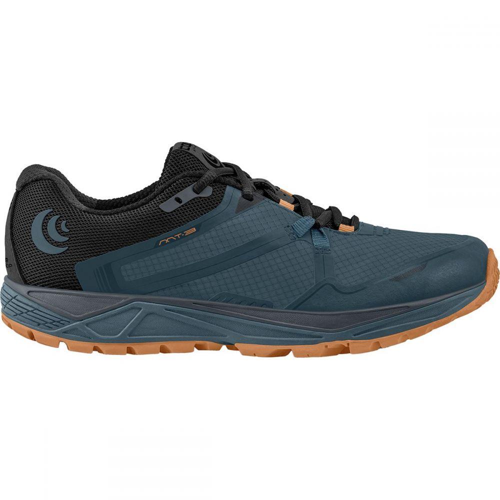 トポ アスレチック Topo Athletic メンズ ランニング・ウォーキング シューズ・靴【MT - 3 Trail Running Shoes】Slate/Orange