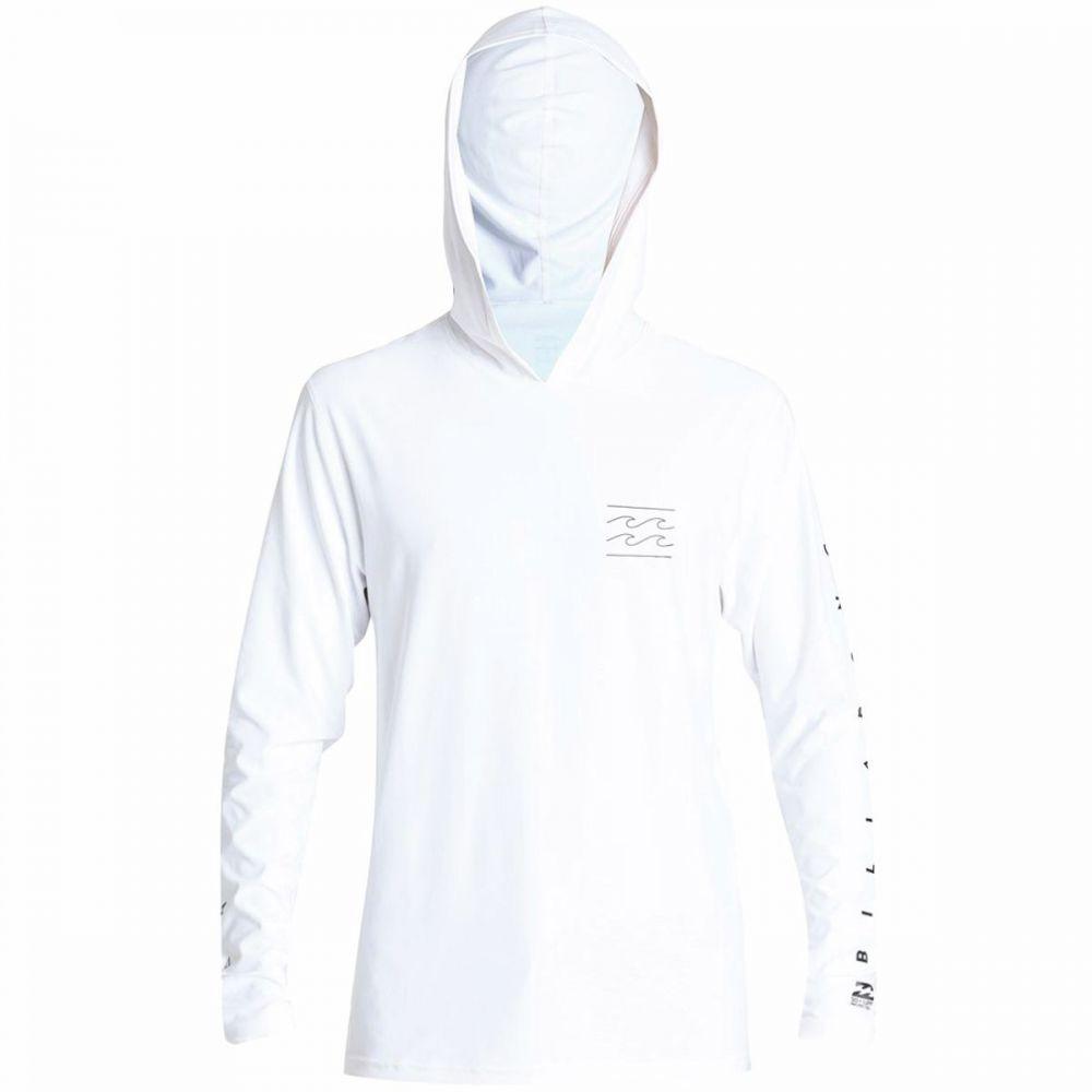 ビラボン Billabong メンズ 水着・ビーチウェア ラッシュガード【Unity Loose Fit Hooded Rashguards】White