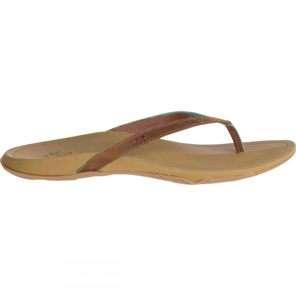 チャコ Chaco レディース シューズ・靴 ビーチサンダル【Biza Flip Flop】Cognac