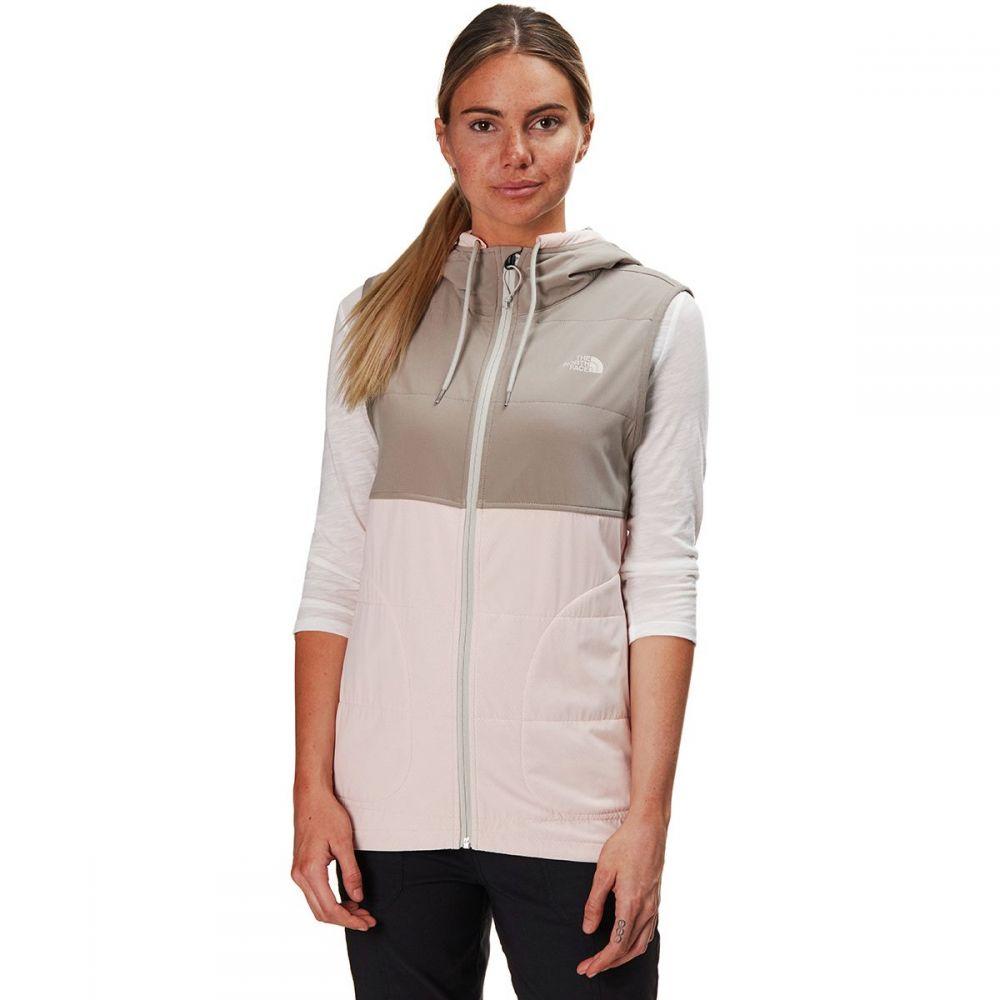 ザ ノースフェイス The North Face レディース トップス ベスト・ジレ【Mountain Sweatshirt Hooded Vest】Pink Salt Multi