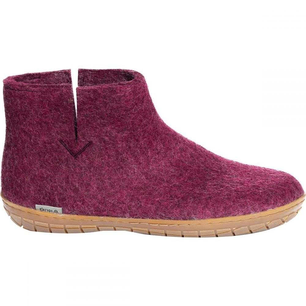 グリオプス Glerups メンズ シューズ・靴 スリッパ【Boot Slipper】Cranberry