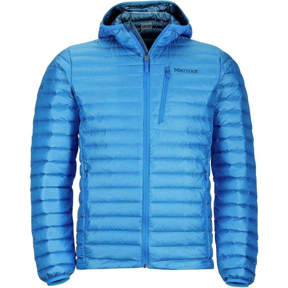 マーモット Marmot メンズ アウター ダウン・中綿ジャケット【Quasar Nova Hooded Down Jackets】Clear Blue