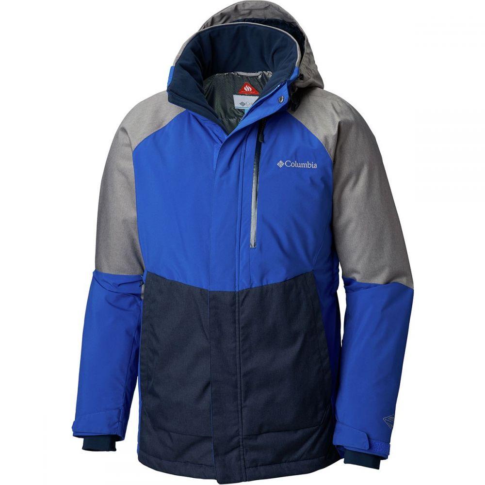 コロンビア Columbia メンズ スキー・スノーボード アウター【Wildside Insulated Jackets】Azul/Boulder Heathe