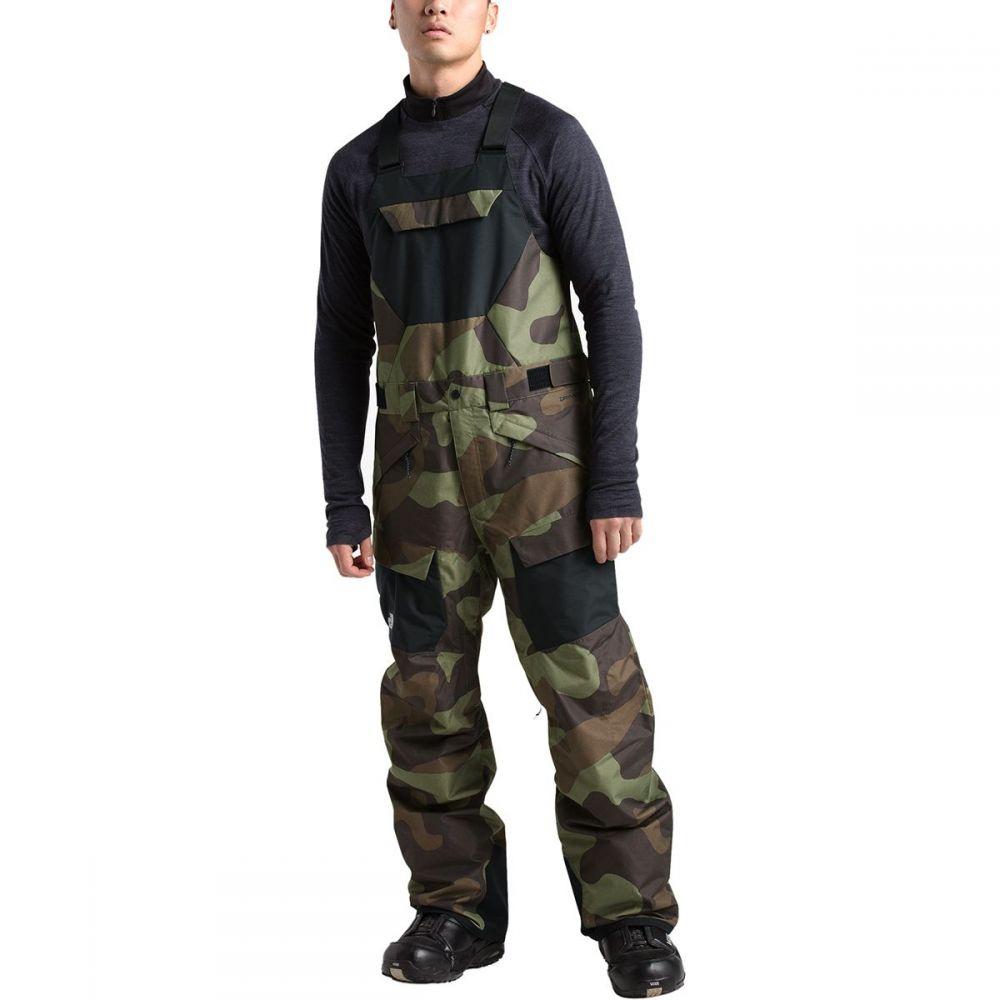 ザ ノースフェイス The North Face メンズ スキー・スノーボード ボトムス・パンツ【Freedom Bib Pants】Four Leaf Clover Terra Camo Print