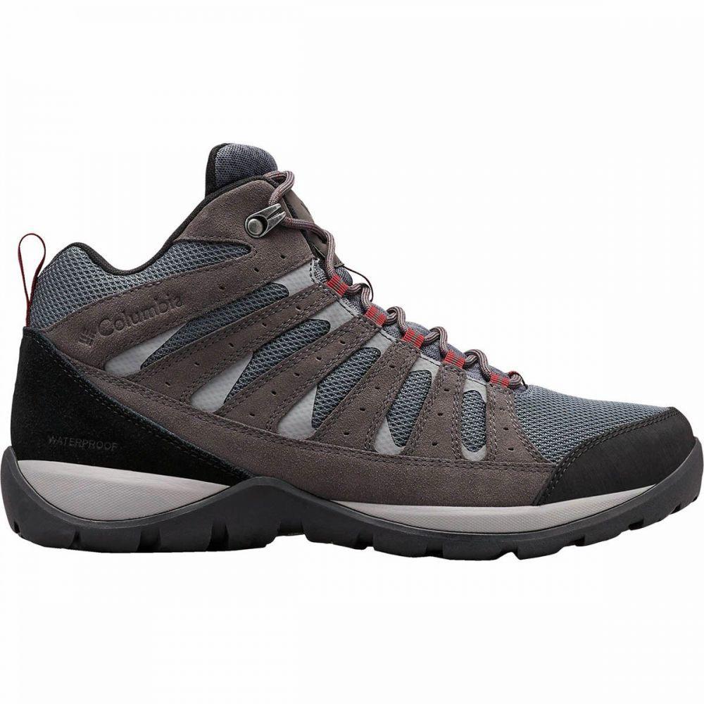 コロンビア Columbia メンズ ハイキング・登山 シューズ・靴【Redmond V2 Mid WP Hiking Boots】Graphite/Red Jasper