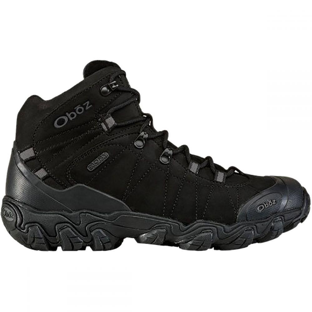 オボズ Oboz メンズ ハイキング・登山 シューズ・靴【Bridger Mid B - Dry Hiking Boots】Midnight Black