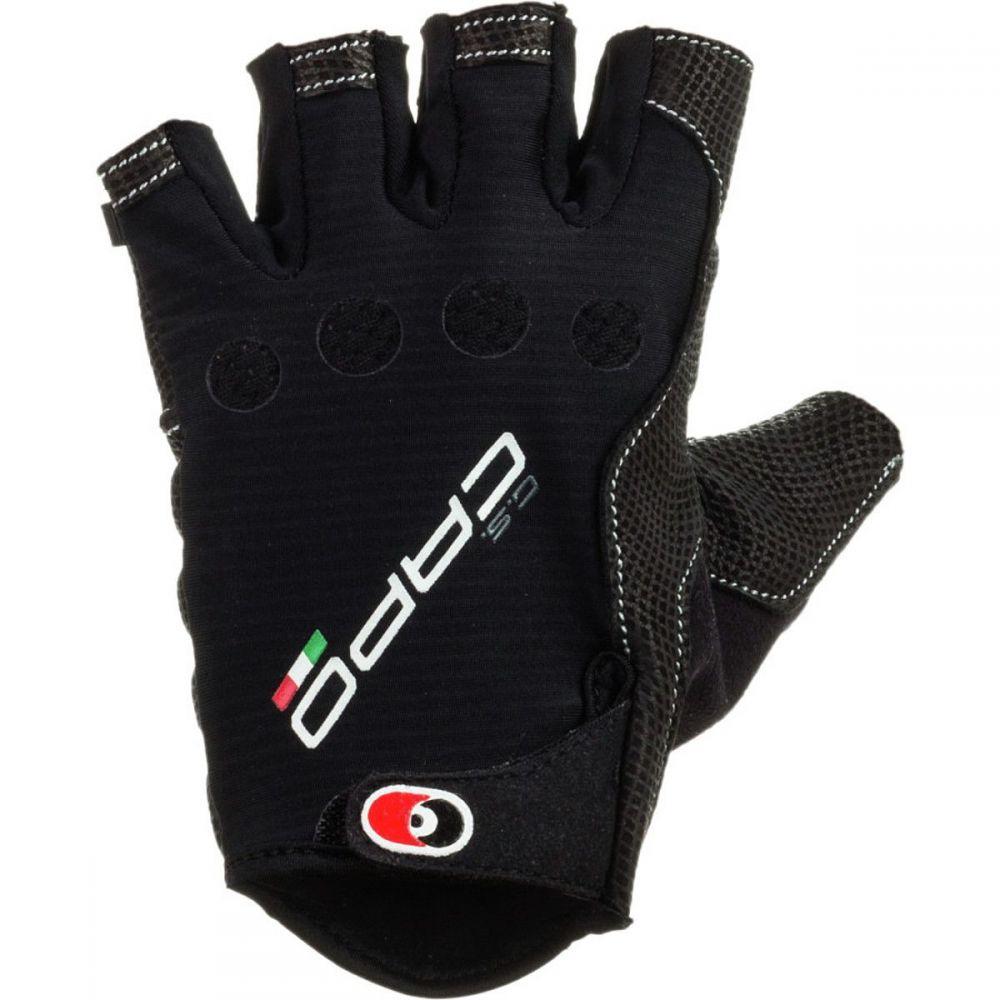 カポ Capo メンズ 自転車 グローブ【MSR SF Pittards Gloves】Black