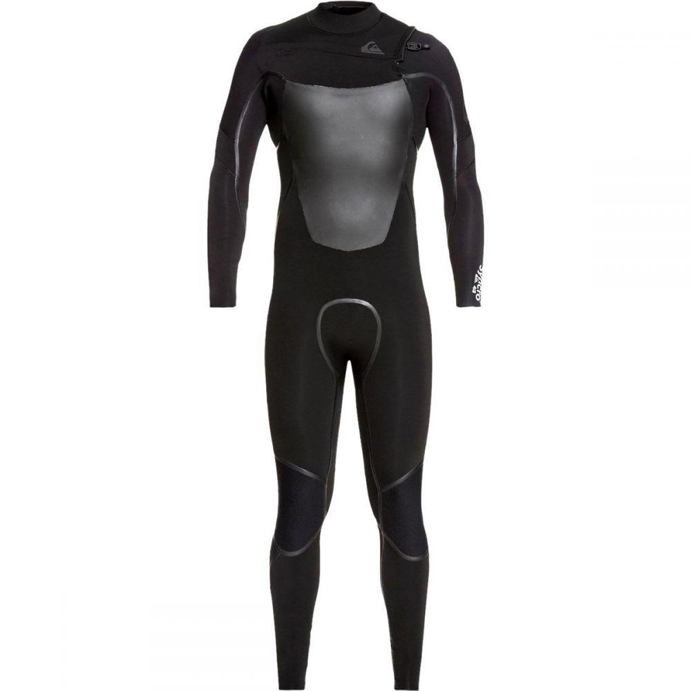 クイックシルバー Quiksilver メンズ 水着・ビーチウェア ウェットスーツ【3/2 Syncro+ Chest Zip LFS Wetsuits】Black