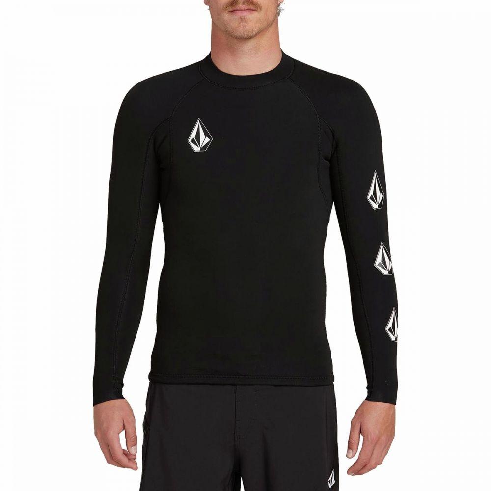 ボルコム Volcom メンズ 水着・ビーチウェア ラッシュガード【Stone Neo Rashguard Jackets】Black