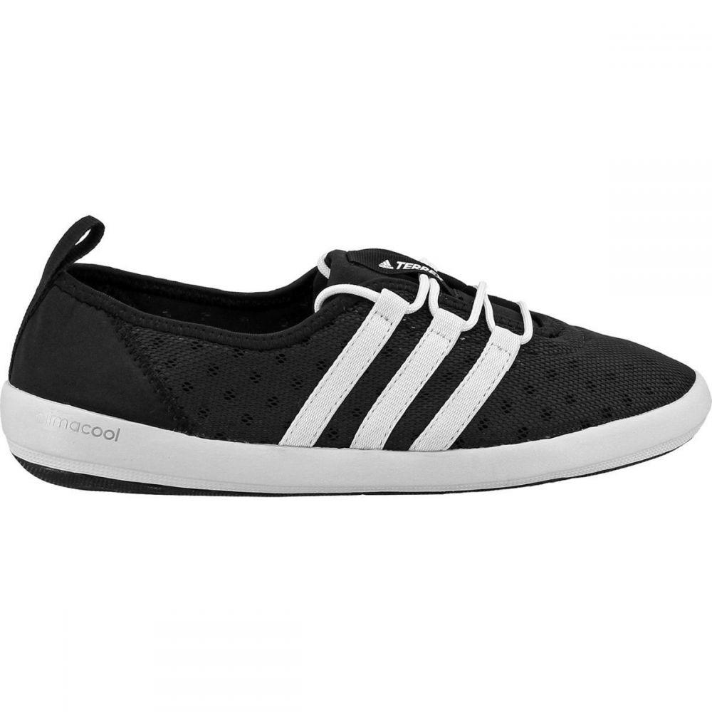 アディダス Adidas Outdoor レディース シューズ・靴 ウォーターシューズ【Climacool Boat Sleek Water Shoe】Black/Chalk White/Matte Silver