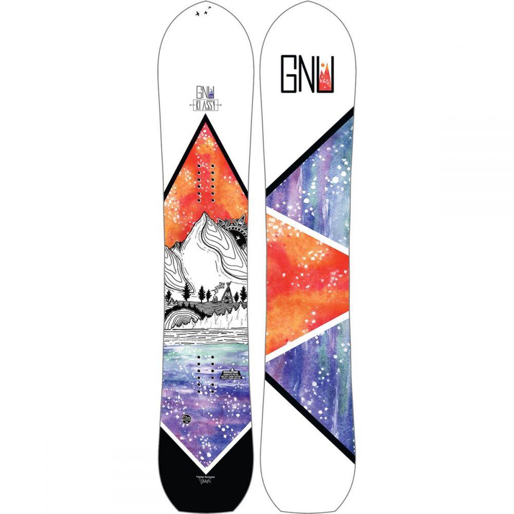 グヌ Gnu レディース スキー・スノーボード ボード・板【Klassy Snowboard】One Color