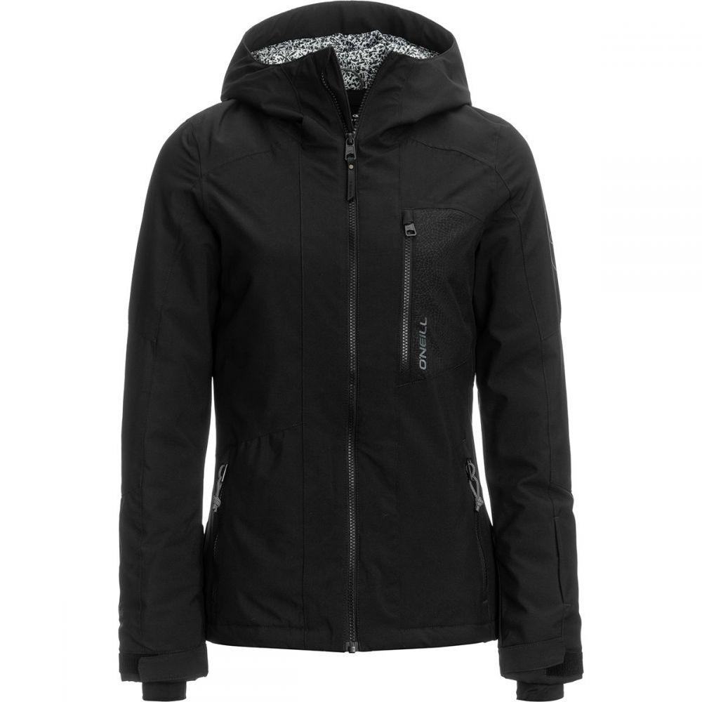 オニール O'Neill レディース スキー・スノーボード アウター【Cascade Jacket】Black Out