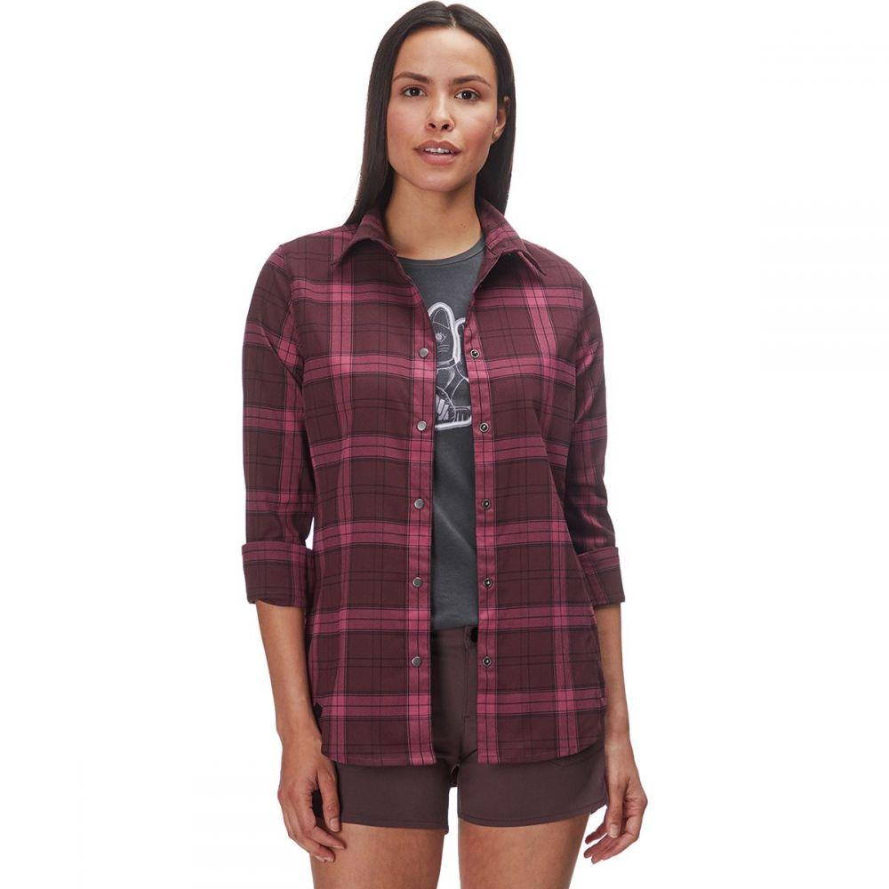 フライロウ Flylow レディース トップス ブラウス・シャツ【Brigitte Tech Flannel Shirt】Nightglow/Mulberry/Black