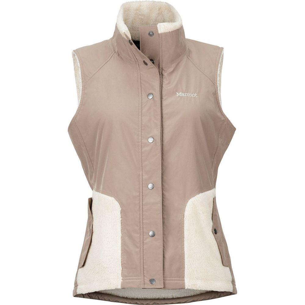 マーモット Marmot レディース トップス ベスト・ジレ【Mia Fleece Vest】Cappuccino/Oatmeal