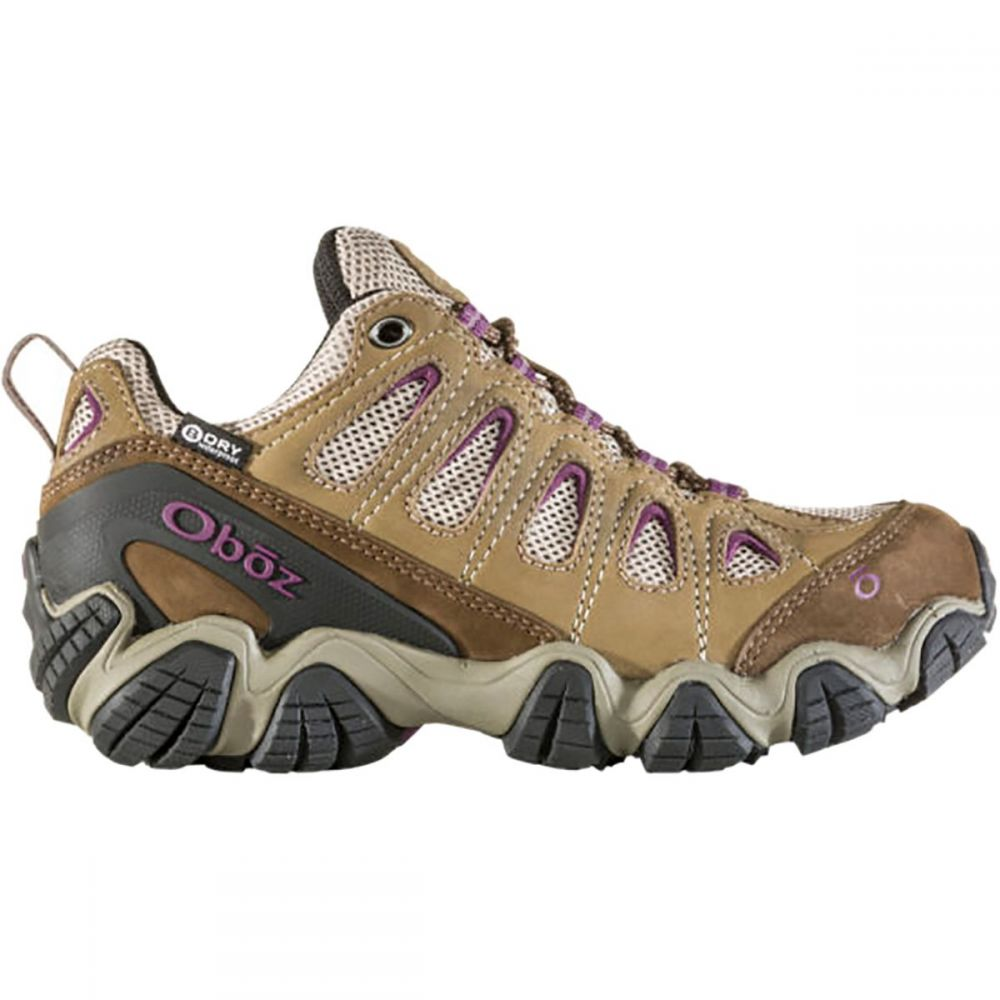 オボズ Oboz レディース ハイキング・登山 シューズ・靴【Sawtooth II Low B - Dry Hiking Shoe】Violet
