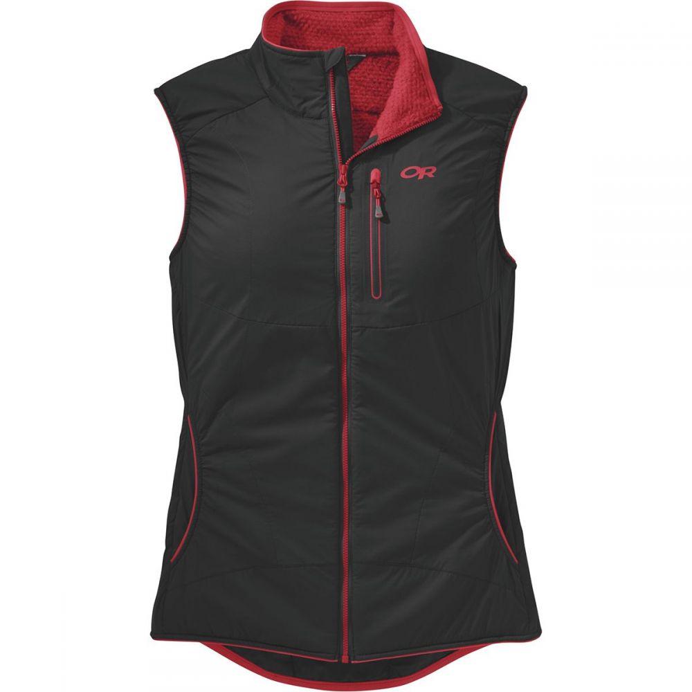 アウトドアリサーチ Outdoor Research レディース トップス ベスト・ジレ【Ascendant Vest】Black/Flame