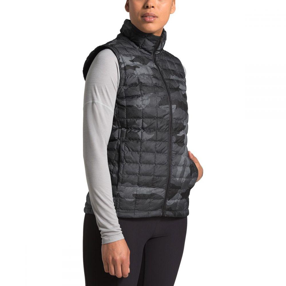 ザ ノースフェイス The North Face レディース トップス ベスト・ジレ【Thermoball Eco Insulated Vest】Tnf Black Waxed Camo Print