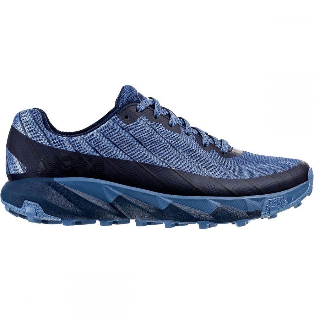 ホカ オネオネ HOKA ONE ONE レディース ランニング・ウォーキング シューズ・靴【Torrent Trail Run Shoe】黒 Iris/Moonlight 青