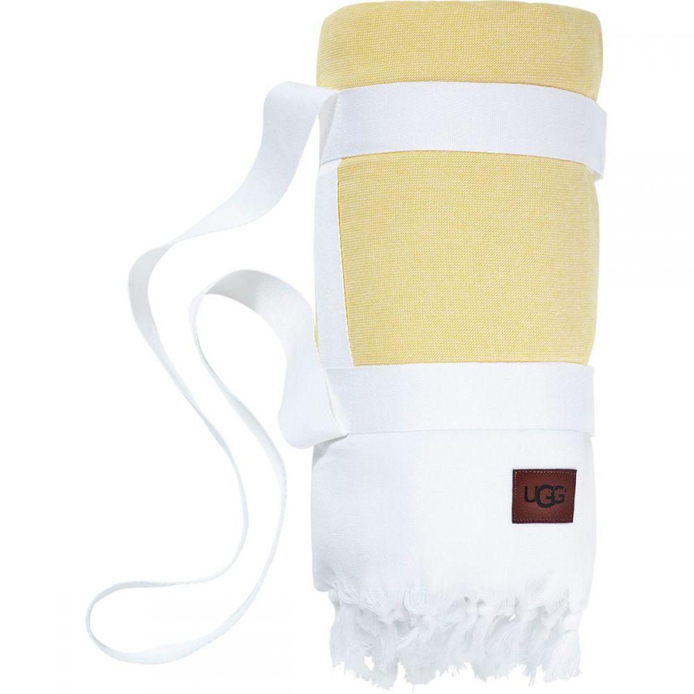 アグ UGG レディース 雑貨【Surf Stripe Beach Blanket】Bright White