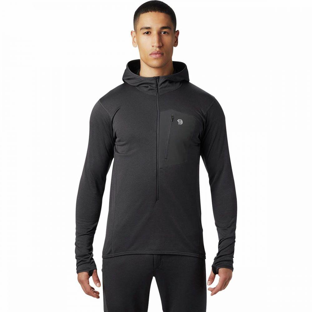 マウンテンハードウェア Mountain Hardwear メンズ トップス フリース【Type 2 Fun 3/4 - Zip Hooded Jackets】Void