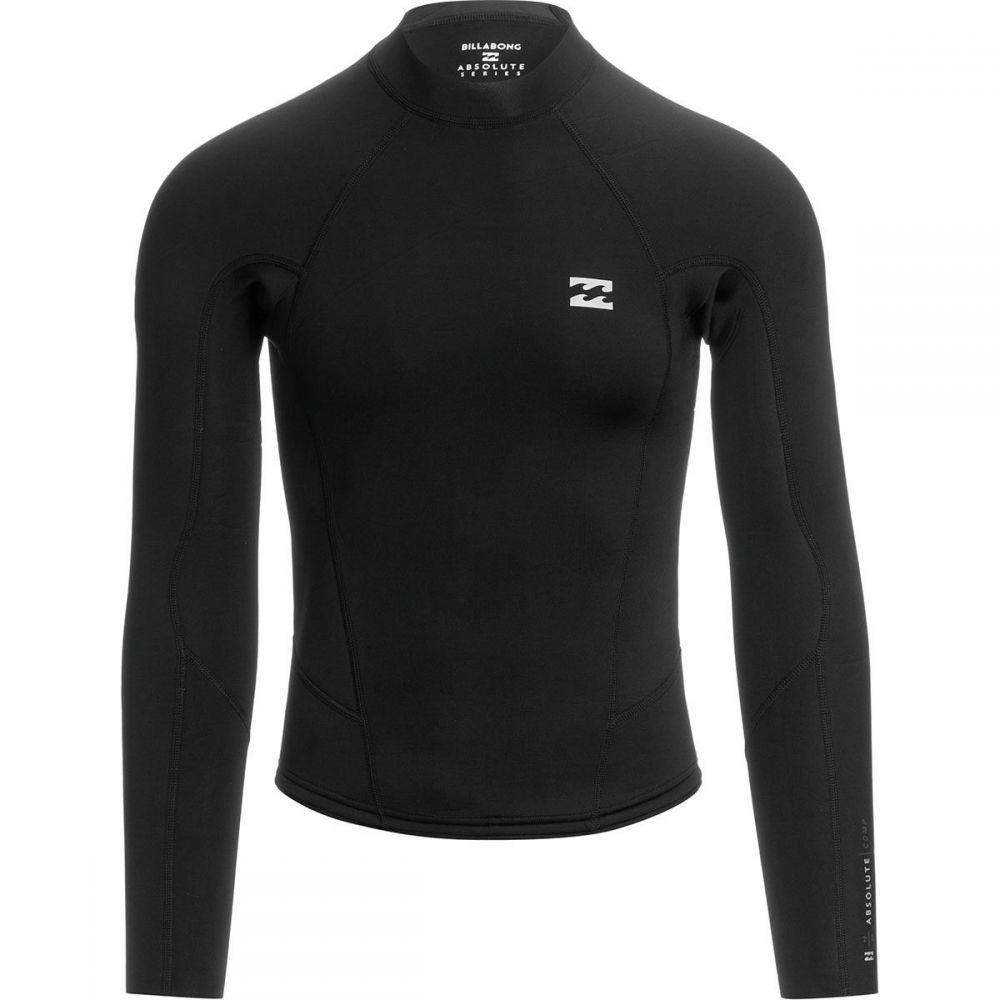 ビラボン Billabong メンズ ウェットスーツ ジャケット 水着・ビーチウェア【2mm absolute comp long - sleeve jacket】Black/Silver