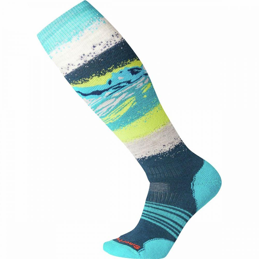スマートウール Smartwool レディース スキー・スノーボード ソックス【phd snow medium sock】Deep Marlin