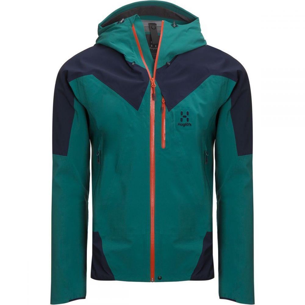 ホグロフス Haglofs メンズ スキー・スノーボード ジャケット アウター【l.i.m touring proof jacket】Alpine Green/Tarn Blue