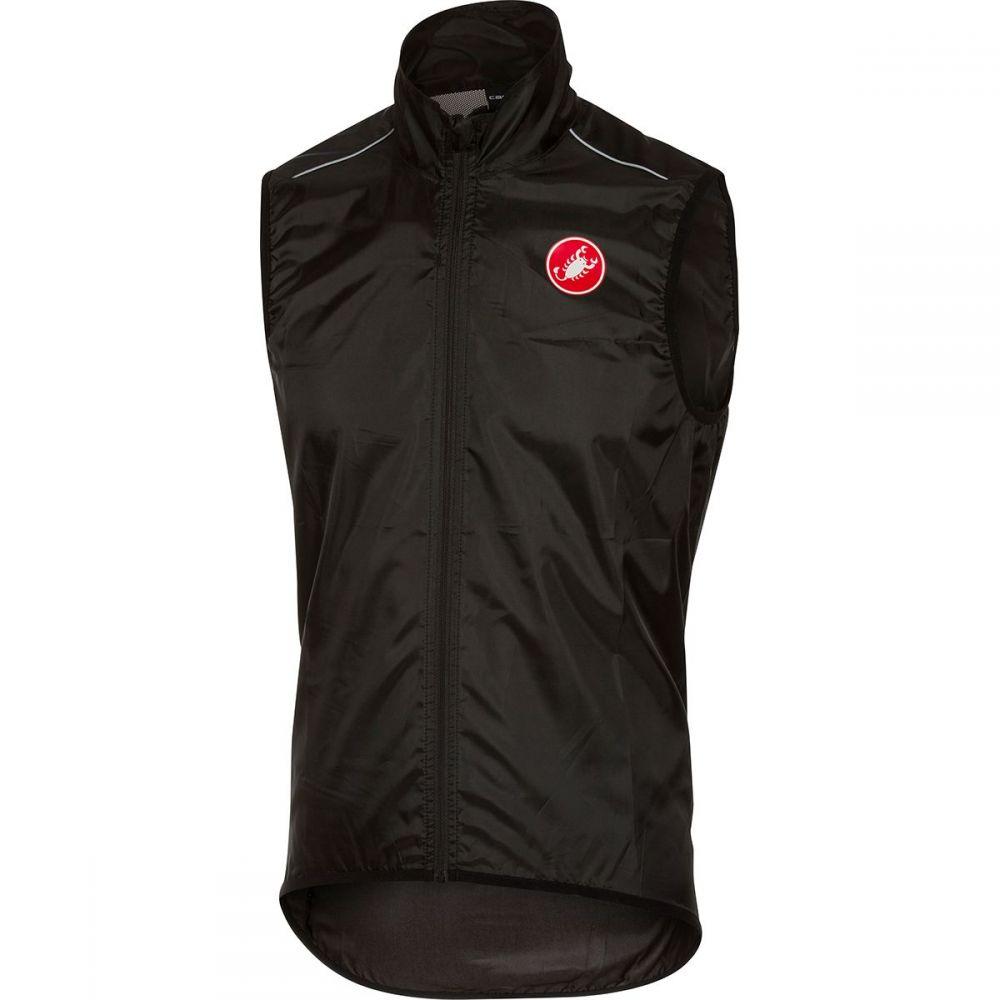 カステリ Castelli メンズ 自転車 ベスト・ジレ トップス【squadra vest】Black